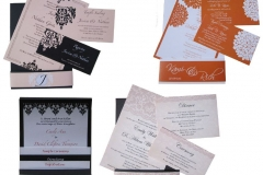 Utah Weddings Invitations with pockets