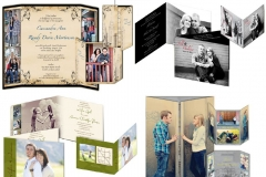 Utah bride and groom Weddings Invitations