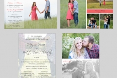 Utah wedding invitations - Watkins Wedding Printing Cards Flat 2 Side