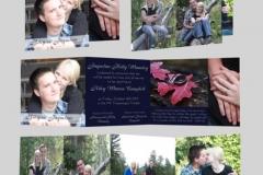 Utah wedding invitations - Watkins Wedding Printing Cards Z Fold 2 Side