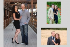 Utah wedding invitations - Watkins Wedding Printing Photos 1 Side
