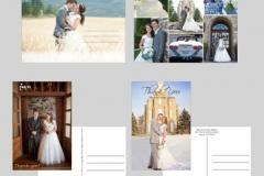 Utah wedding invitations - Watkins Wedding Printing Postcards 2 Side