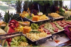 Catering by Bryce - Utah Wedding Catering buffet 1