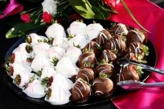 Catering by Bryce - Utah Wedding Catering chocolate strawberries