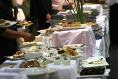 Salt Lake City Utah wedding catering Brown Brothers Catering buffet
