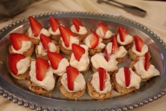 Salt Lake City Utah weddings catering Brown Brothers Catering desserts
