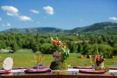 Salt Lake City Utah weddings catering Brown Brothers Catering plated dinner