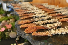 Wedding catering - chocolate covered bacon from Cosmopolitan Catering