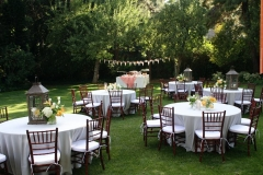 Utah wedding chair rentals Alpine Event Rentals