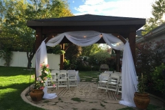 utah wedding decorations rentals I DO Decor canopy