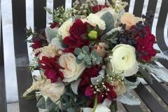 Salt Lake City Utah wedding Flowers - Flower Patch bouquet