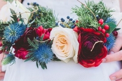 Utah wedding Flowers - Flower Patch flower sash
