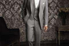 Utah Wedding Tuxedos - A Cleaner Image Formal Wear heather grey allure groom