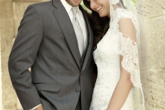 Utah Wedding Tuxedos - A Cleaner Image Formal Wear steel gray allure bride and groom