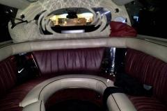 Utah wedding limo - Divine Limousine interior 3