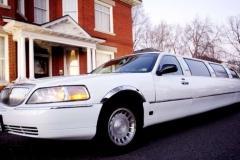 Utah wedding limo - Divine Limousine white limo