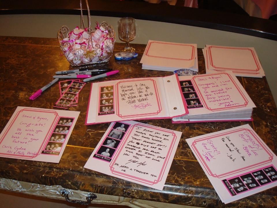 Utahs wedding photobooth book