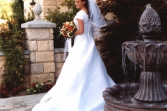 Salt Lake City Utah weddings reception venue Le Jardin bride