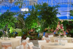 Utah wedding reception venue Le Jardin indoor garden