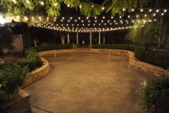 Utah wedding venue - Eldredge Manor patio