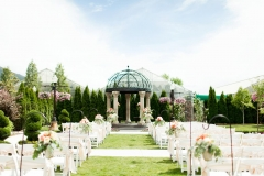 Utah wedding venue Le Jardin garden ceremony