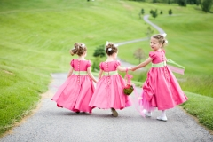 Utah wedding venue eaglewood flower girls