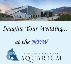 Utah wedding reception venue Loveland Living Planet Aquarium