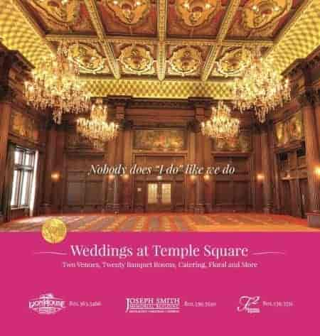 Utah Wedding Venue-Weddings-at-Temple-Square