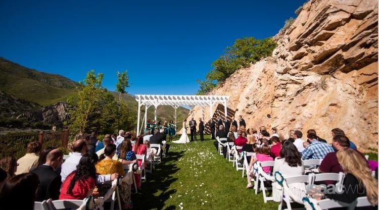 Utah Wedding Venue - Louland Falls - Salt Lake Bride