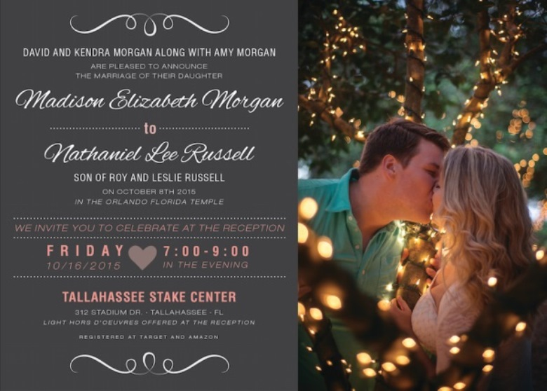 Beautiful Personalized Utah Wedding Invitations All Of Our Designs At Utah  Announcements Are Custom Designed To Match Your Colors, Style, And Themes.